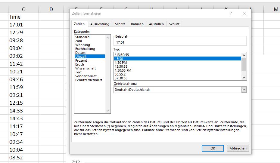 x-y-Diagramm mit Datum(x-Achse) und Uhrzeit(y-Achse) 2021-01-14 09_52_33-Aus Workflow Email_auslesen.xlsx - Excel.png