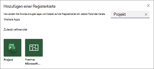 Verwenden der Project-oder Roadmap-app in Teams 9c5101e1-24a1-4ae6-81fa-05b05a603fb7.png