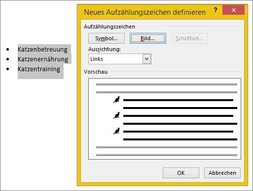 Erstellen benutzerdefinierte Aufzählungszeichen mit Bildern oder Symbolen bb494ccd-51c7-4128-8985-570f3a737c97.png