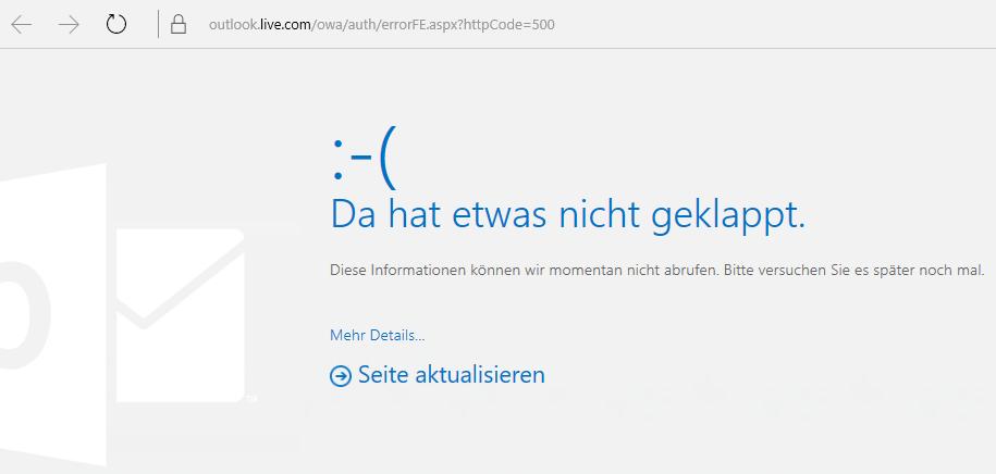 Korrekturen oder Problemumgehungen für aktuelle Probleme bei Outlook.com ec4dee2a-1201-4ae2-85e7-5e87e22ffa8c.png