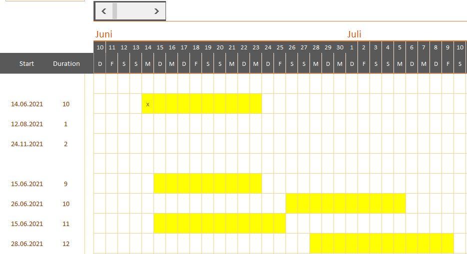 """Termine in Excel mit """"x"""" markieren Excel-Planung.JPG"""